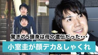 【画像】小室圭が顔デカい&しゃくれでスタイル最悪!5等身で身長が低いのは母の遺伝?