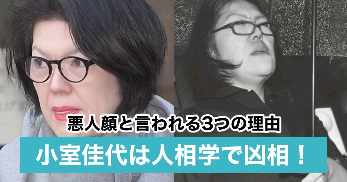 【画像】小室圭の母・佳代が悪人顔!人相学では凶相で犯罪者の素質あり?
