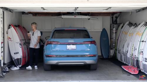 五十嵐カノアのカリフォルニアの自宅