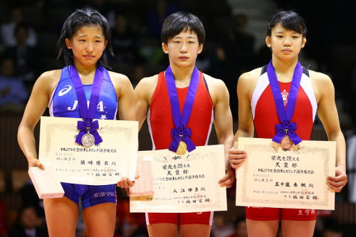 2015年全日本選手権で準優勝の須崎優衣選手