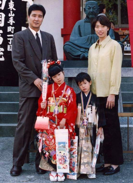 渡邊雄太 家族 父 母 身長高い