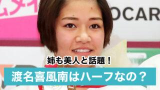【画像】渡名喜風南がかわいいけどハーフ?沖縄出身で姉も美人と話題!