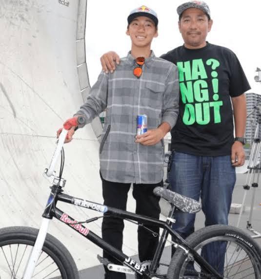 中村輪夢 父親 元 BMX選手
