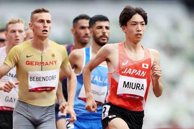 東京オリンピック 三浦龍司