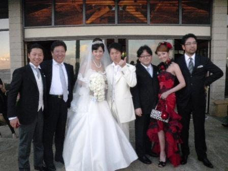 ハワイ 結婚式 伊藤美咲 榎本善紀