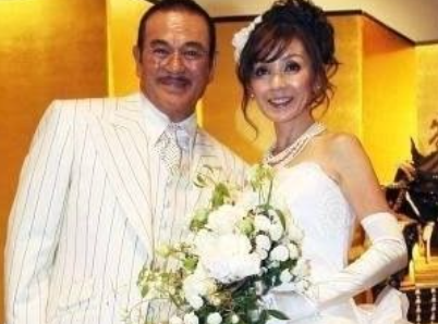 2010年 千葉真一と妻・玉美夫人の結婚披露宴