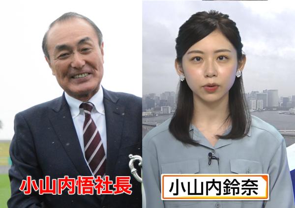 小山内鈴菜の父親は青森テレビ社長・小山内悟?