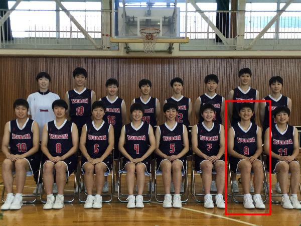 石川県立津幡高等学校出身の赤穂かんな選手