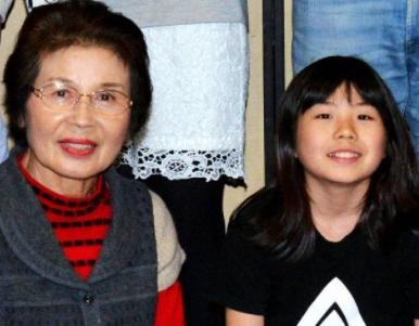 岡本碧優の祖母・岡本峰子 家族