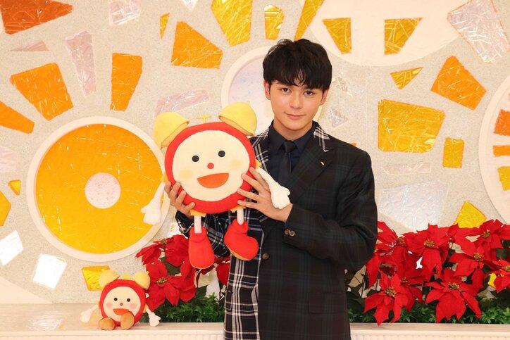 2019年12月「目覚ましテレビ」のマンスリープレゼンターに選ばれた眞栄田郷敦さん