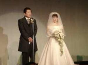 高市早苗氏 山本拓の結婚式