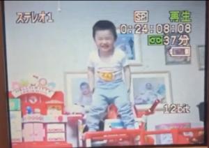 幼少期のRyuga