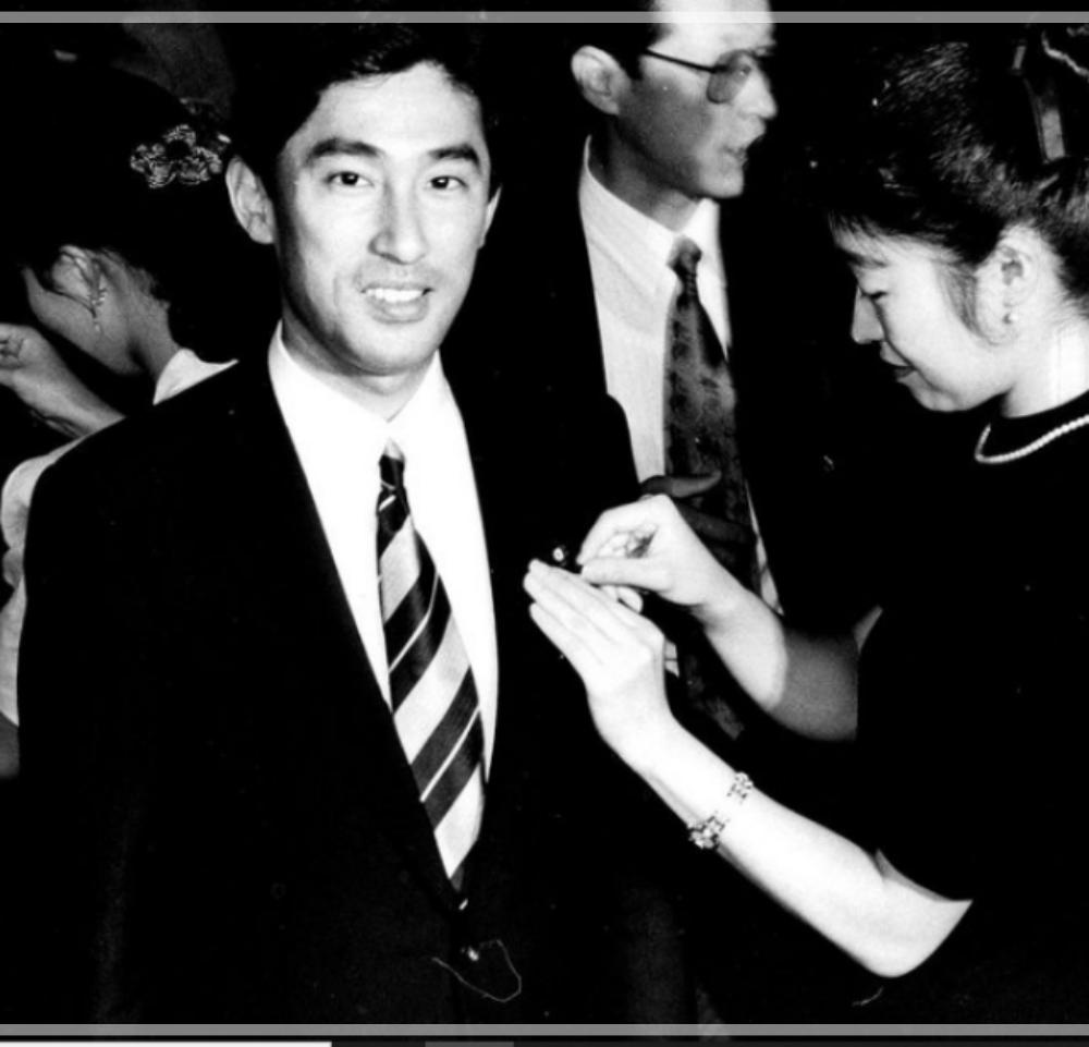 岸田文雄 若い頃 衆議院議員 初当選