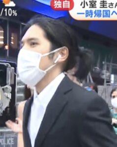 小室圭 髪型 ロン毛