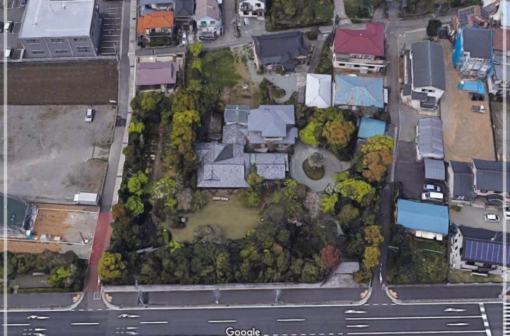 河野太郎 実家 航空写真 自宅住所