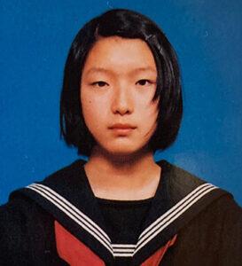 江口のりこ 中学時代 幼少期