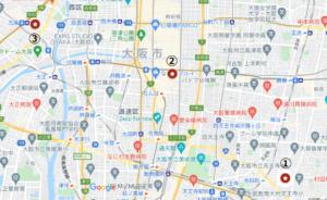 火災現場 大阪 寺田町 千日前 九条 難波