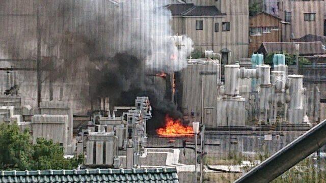 蕨変電所爆発火災
