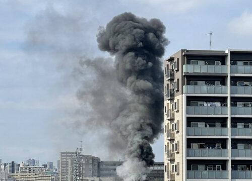 蕨市変電所爆発火災
