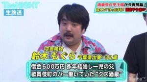 鈴木もぐら ギャンブルで多額の借金