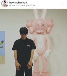 黄皓 藤原望未 森アーツセンターギャラリー KAWS展